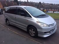 8 Seats Toyota Estima Automatic Silver Kited in Excellent condition 97000 miles