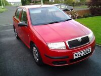 2006 skoda fabia 1.2 petrol 2 owners from new.very well maintained and looked after