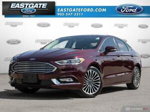2017 Ford Fusion SE AWD ROOF NAV LEATHER 18in RIMS