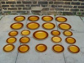 FREE DELIVERY Retro Kiln Craft Royal Alma Plates Mid Century Vintage