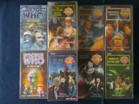 ** DR WHO VIDEO TAPES **