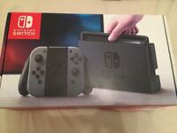 Nintendo Switch Boxed with Splatoon 2 and Accessories