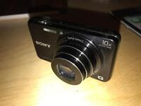 Sony DSCWX220 Digital Compact Camera with Wi-Fi and NFC (18.2 MP, 10x Optical Zoom) - Black