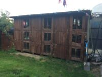 9 block rabbit hutch for sale