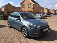 2015 HYUNDAI i20 NEARLY NEW 1.2 PETROL FULL SERVICE HISTORY LOW MILEAGE ONLY 8K ONLY