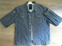 SUMMER SALE - Mens Firetrap Jacket - Denim - Condition 9 / 10 Large L