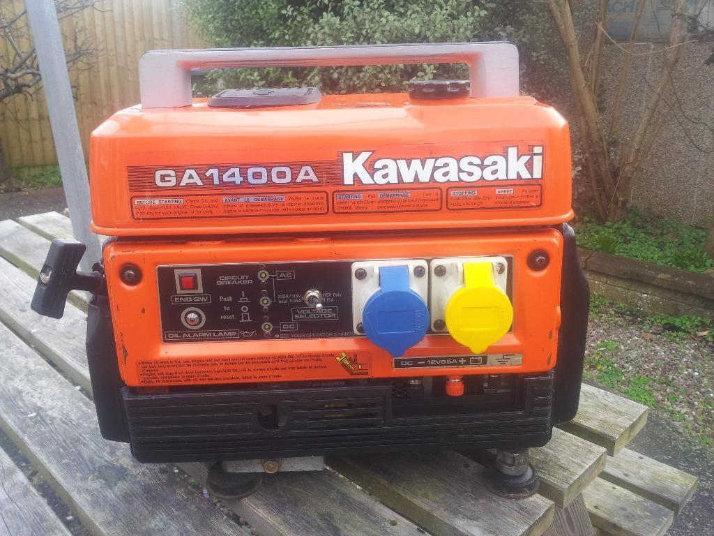 Kawasaki Suitcase Generator