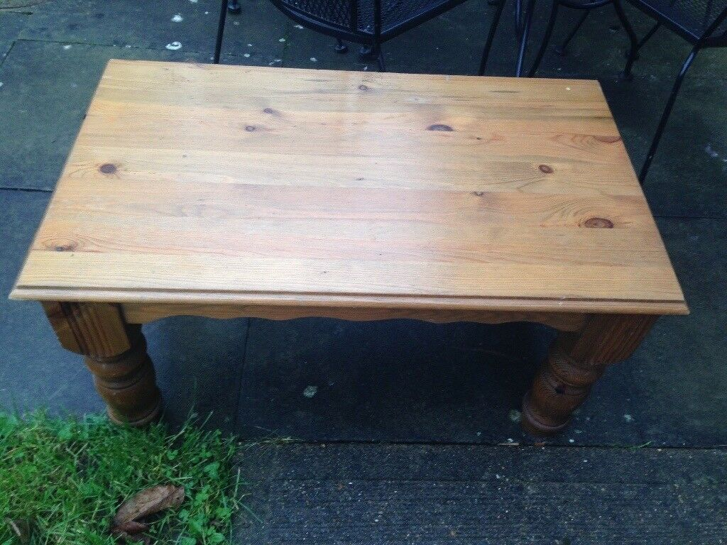 Pine coffe table