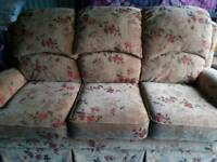 3 piece reclining suite very clean £150
