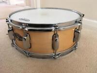 """Tama artwood maple 14 x 5.5"""" snare drum"""