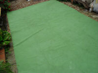 Caravan Awning breathable ground sheet