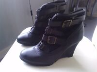 Selection of ladies shoes and boots, from size 5-7 and various prices.