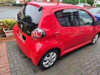 Toyota, AYGO, GO, VVT-I, Hatchback, 2011 (61 Reg), Manual, 998 (cc), 5 doors