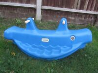 Little Tikes Whale Teeter Totter / seesaw