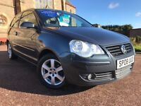 *GREAT VALUE*2008(08)VW POLO 1.2 MATCH 3DR WITH ONLY 64K IDEAL FIRST CAR CHEAP TO RUN AND INSURE*