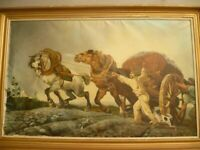 old large oil painting