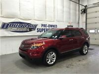 2014 Ford Explorer Limited W/ Captains chairs, Moonroof, Nav, Re