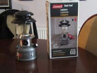 COLEMAN DUAL FUEL TWO MANTLE LANTERN