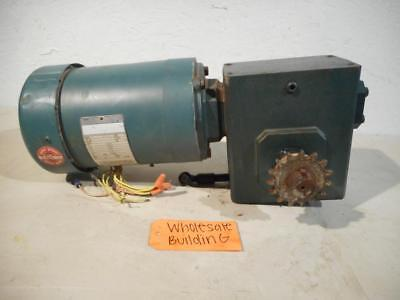 Leeson Watt Super Energy Saving Motor C145t17fc37a Grove Gear Reducer Bmq226-3
