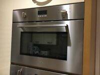 Smeg built in microwave grill SC445MX. 3 years old. Full working order.