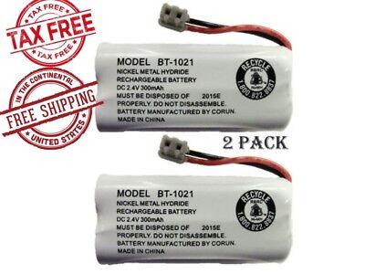 BT-1021 OEM Genuine Cordless Phone Battery Uniden Rechargeable Handset 2 Pack
