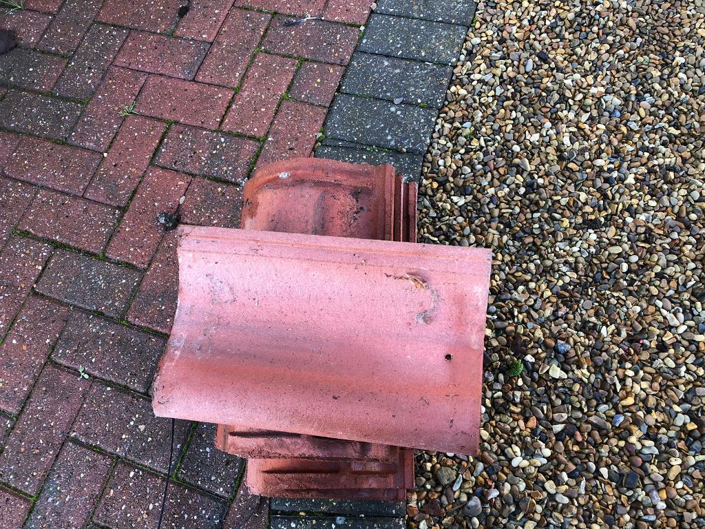 NEW sandtoft terracotta roof tiles x70   in North Walsham, Norfolk   Gumtree