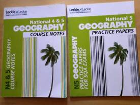 Nat 5 Geography Study Books