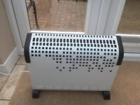Convector Heater 1800w With Timer and Fan