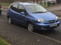 !!!! automatic 07 reg Chevrolet taccuma 12 months mot £499 no offers cheap to run insure great car