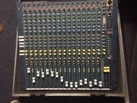 Allen & Heath Mix Wiz3 16:2 16 track analogue mixer