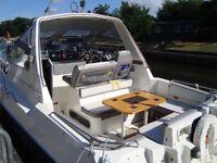 sealine 285 ambassador cabin cruiser