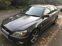 Lexus IS200 2.0 sport 1999, silver, 6 speed manual, 4 doors, leather seats, mot & tax