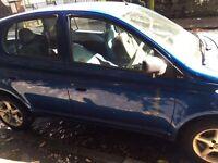 Toyota Yaris spare or repair