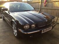 2004 jaguar xj 3.0 auto in black lady owned low mlsfsh rare spec real jag!! Awesum