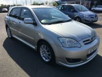 2007 Toyota COROLLA 1.6 SR ,mot - April 2019 , service history , 2 owners ,astra,civic,auris,focus