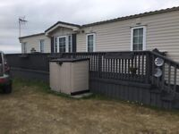 4/6 Berth Caravan for Rent in Cloughey. Beautiful views of Bay and Mountains of Mourne.