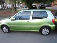 VW POLO 1400cc. 3 Door, 2001, 2 OWNERS & LOW MILES.