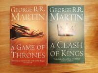 Various Books (Tolkien, Martin, Pratchett)