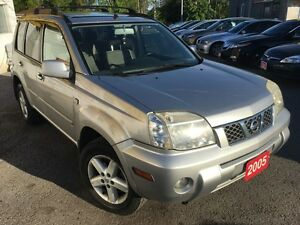 2005 Nissan X-Trail SE/5SP/PWR ROOF/LOADED/ALLOYS