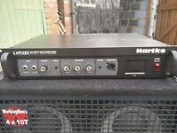 Hartke LH500 Bass Head with Valve Preamp