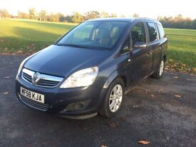 VAUXHALL ZAFIRA CDTi Diesel 7 Seater with Full Service History & MOT until 15th July 2008.