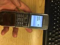 Nokia 8800D Sirroco Silver,made in germany