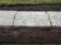 Aged Concrete Coping Stones