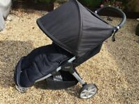 Britax B-Agile B-Safe Elite travel stroller - BLACK (reduced from GBP 90 > 70) incl.extras!