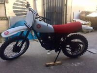 Yamaha XT 250 1983 (Y REG) White and Red Classic Enduro