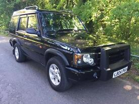 2004 Landrover discovery 2.5 td5 pursuit 7 seat manual