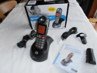 Geemarc AMPLIDECT 280 Cordless Phone. Ideal for the hard of hearing