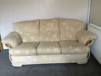 FREE to uplift, 3 seater sofa