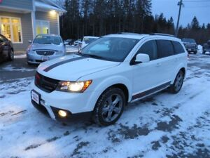2017 Dodge Journey Crossroad AWD, LEATHER!