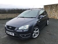 2006 06 FORD FOCUS ST 2.5 - *MAY 2018 M.O.T* - ONLY 2 FORMER KEEPERS - FULL RECARO LEATHER SEATS!